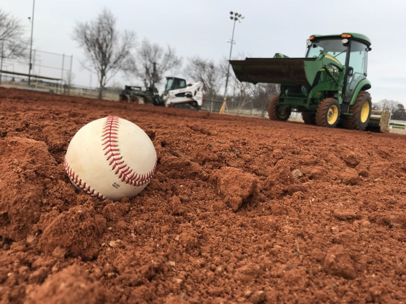 united turf and track sports construction natural grass baseball field