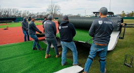 Stillwater High School Baseball Turf Installation