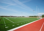 Jenks Middle School Football Field & Track