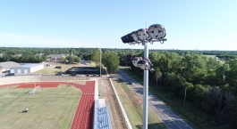 Oakdale Schools Sports Lighting