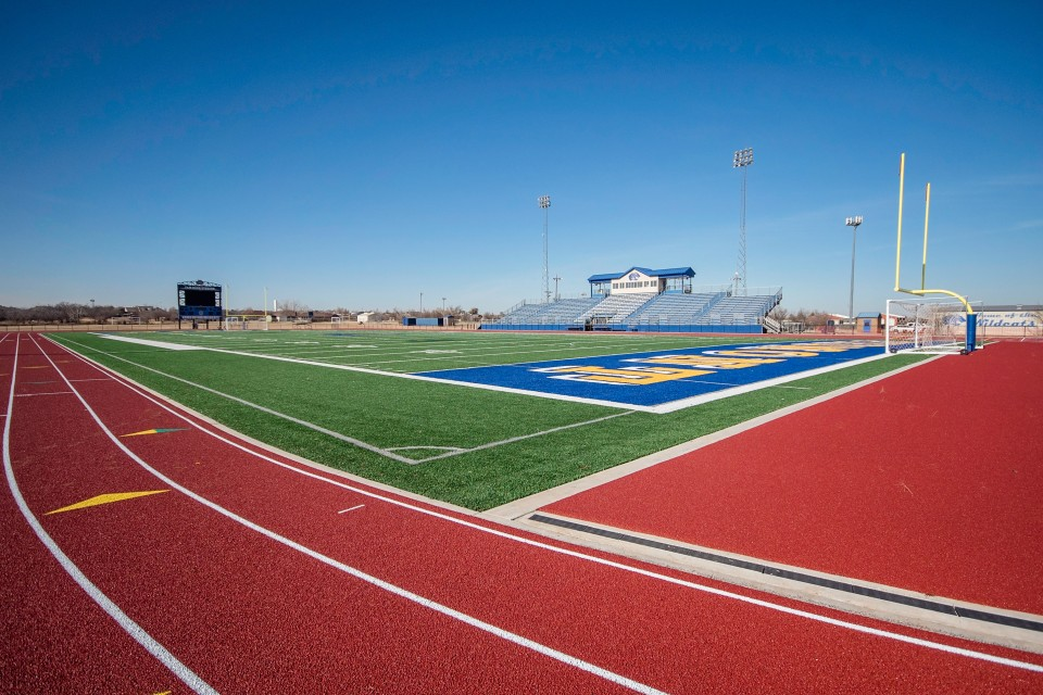 United Turf and Track Piedmont Football Field